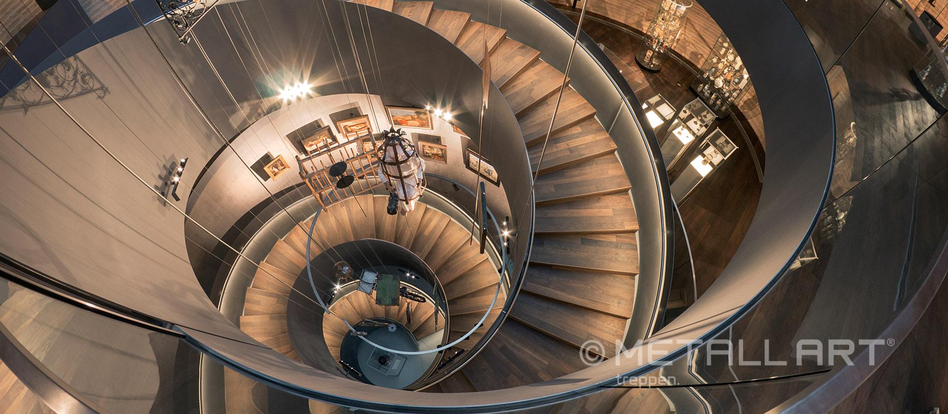 Treppe im PANEUM