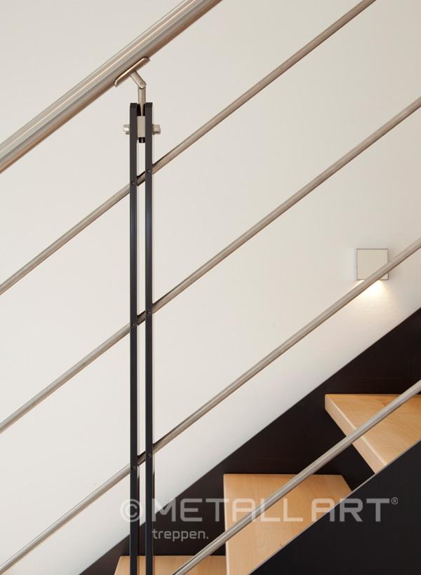 Systemtreppe in einem Massa Haus