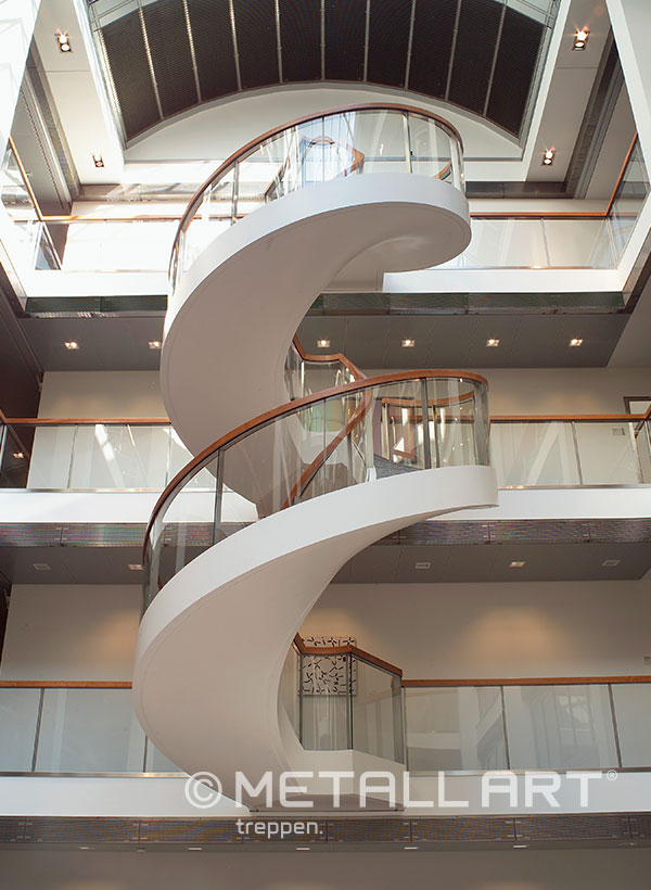 Gewendelte Treppe Handlauf