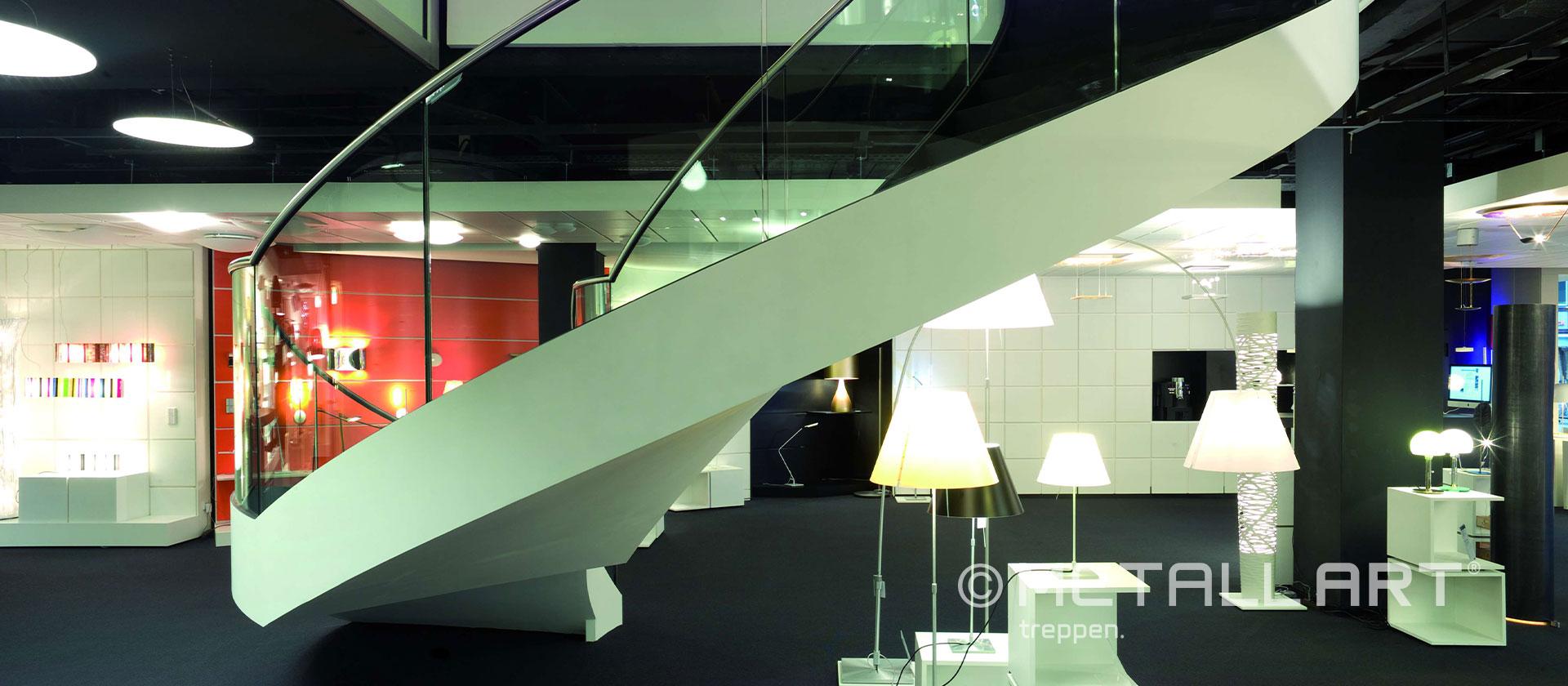 Treppe gewendelt Büro
