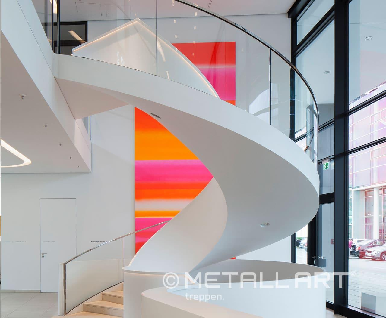 Stringer stairs