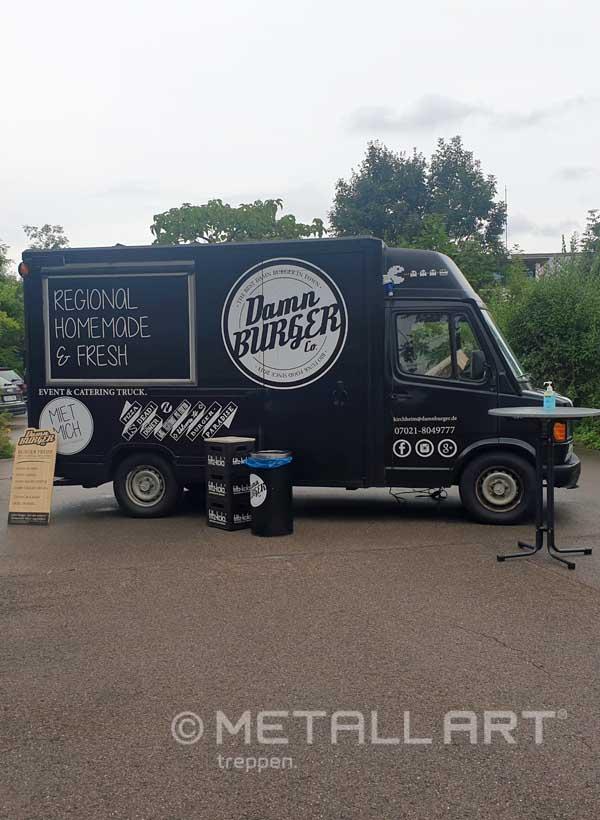 Burger bei MetallArt